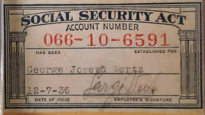 Numchk Through Ssn History Card